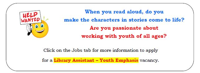 Lib Asst - Youth Emphasis - April 2015 - Web Site Blog Post