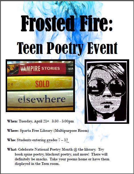 Teen Poetry Event