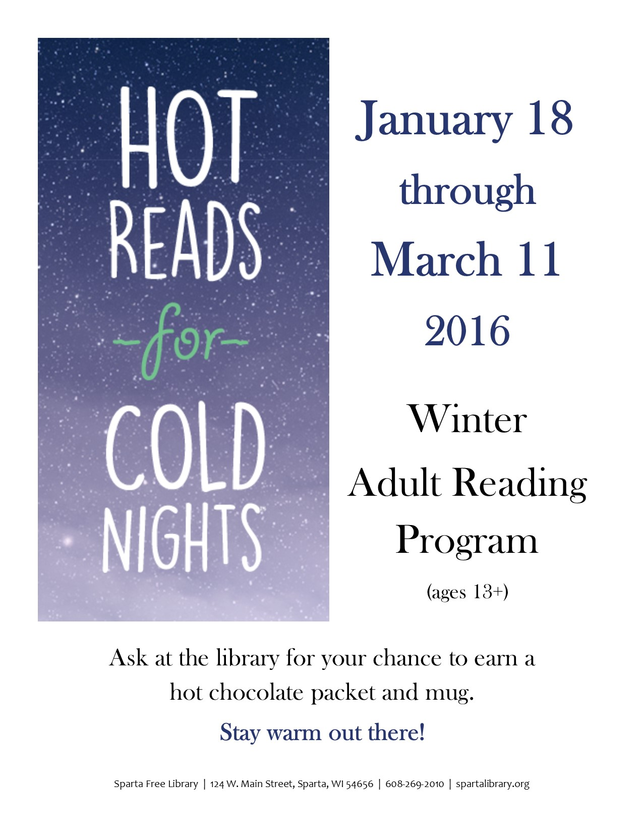 Hot Reads Poster 2016 image