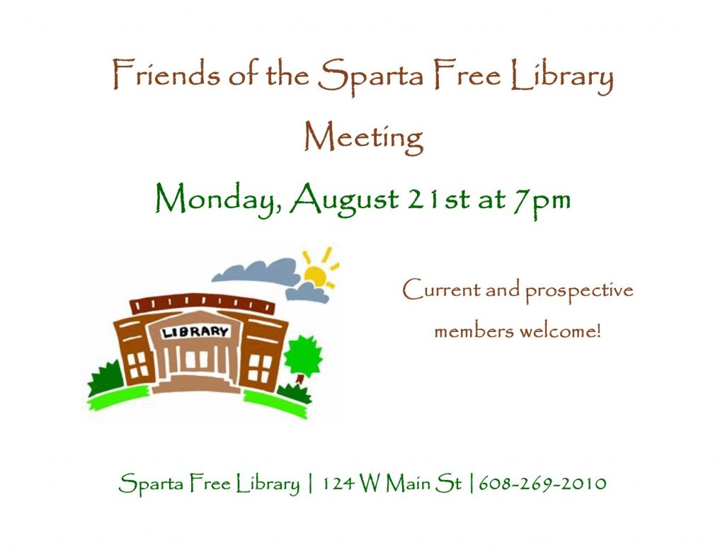 Friends of the Sparta Free Library Meeting