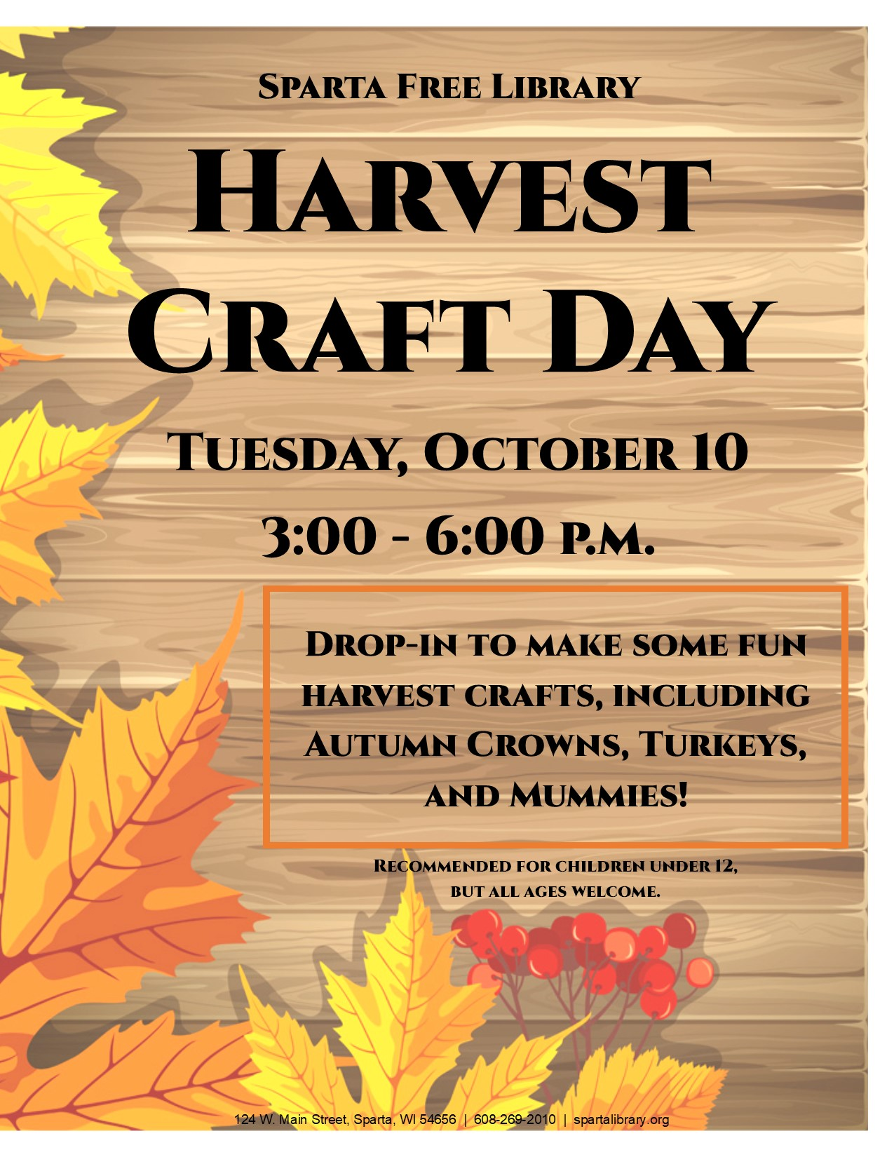 Harvest Craft Day 2017 poster