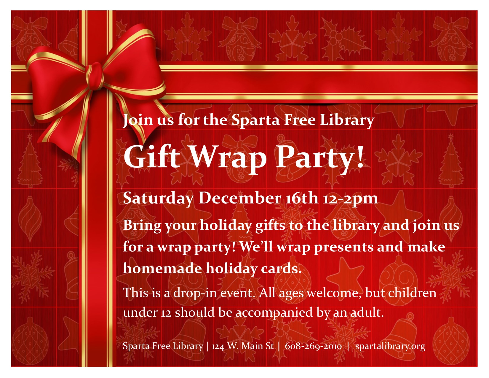 Gift Wrap Party – Sparta Free Library