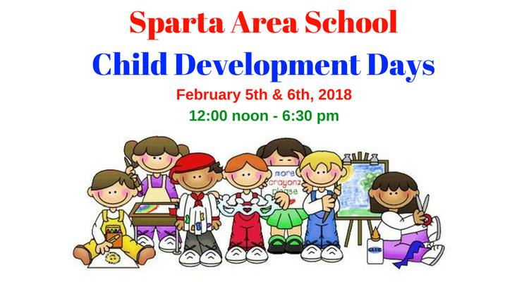 Sparta Area Schools Child Development Days