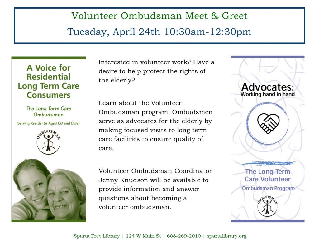 Volunteer Ombudsman Meet & Greet