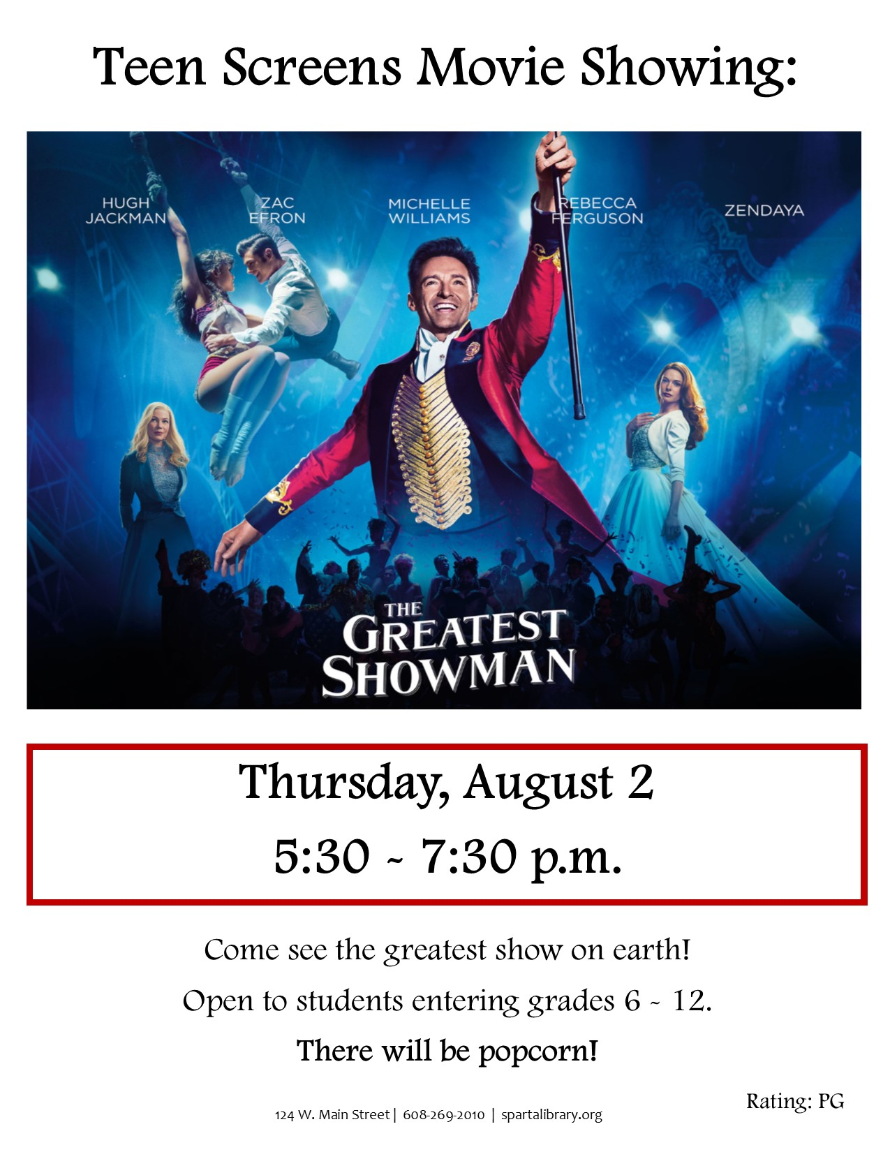 Greatest Showman Poster - SRP 2018