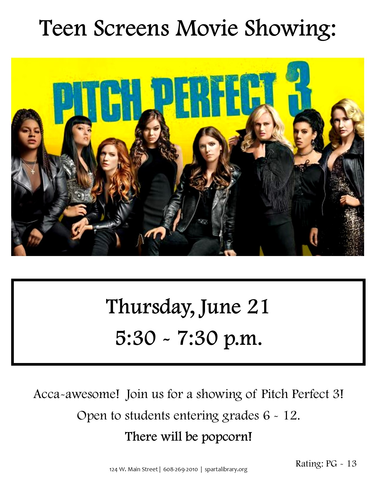 Pitch Perfect 3 Poster - SRP 2018