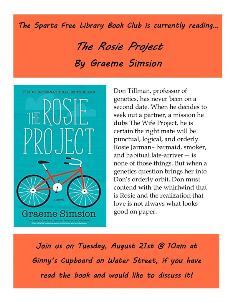 Book Club: The Rosie Project