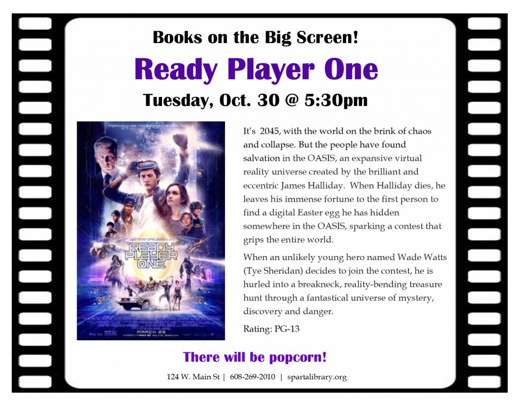 BotBS Ready Player One Poster