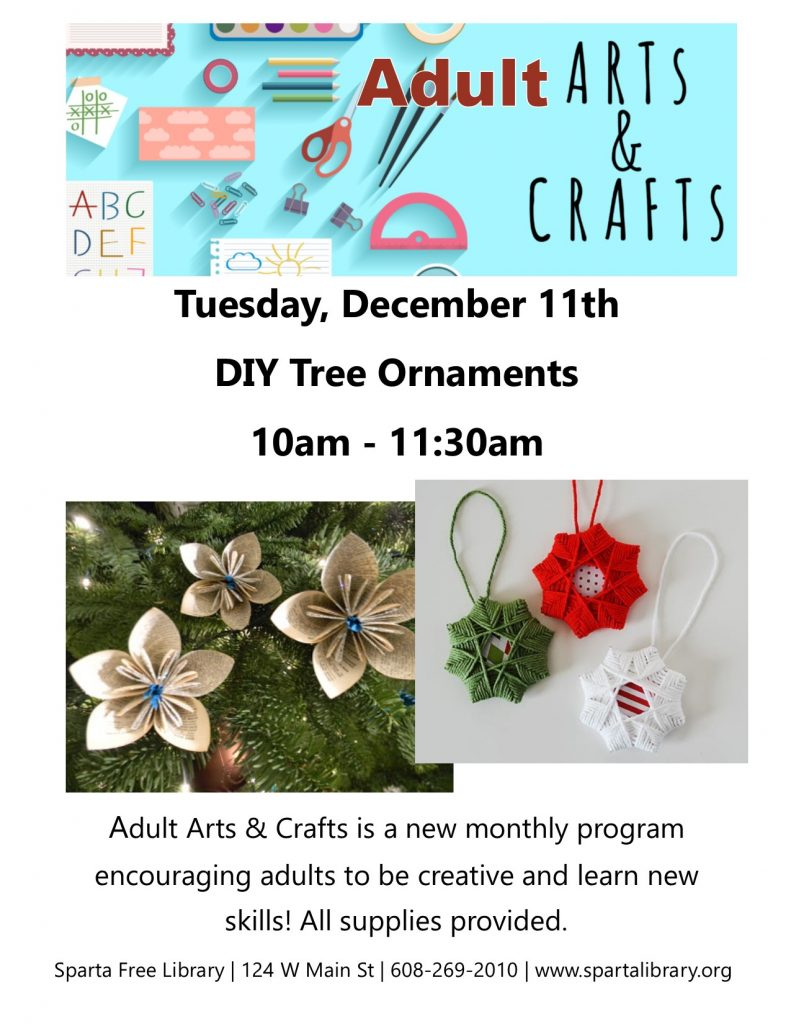 Adult Arts & Crafts: DIY Tree Ornaments