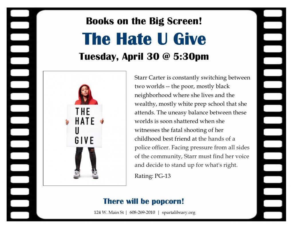 BotBS The Hate U Give Poster