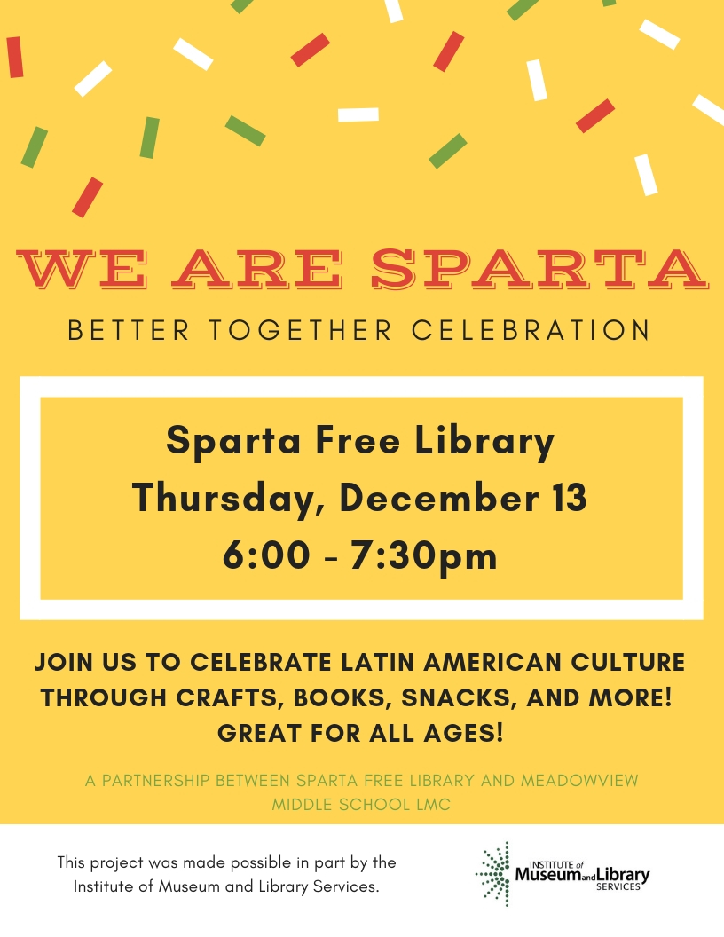 Better Together Celebration @ Sparta Free Library | Sparta | Wisconsin | United States