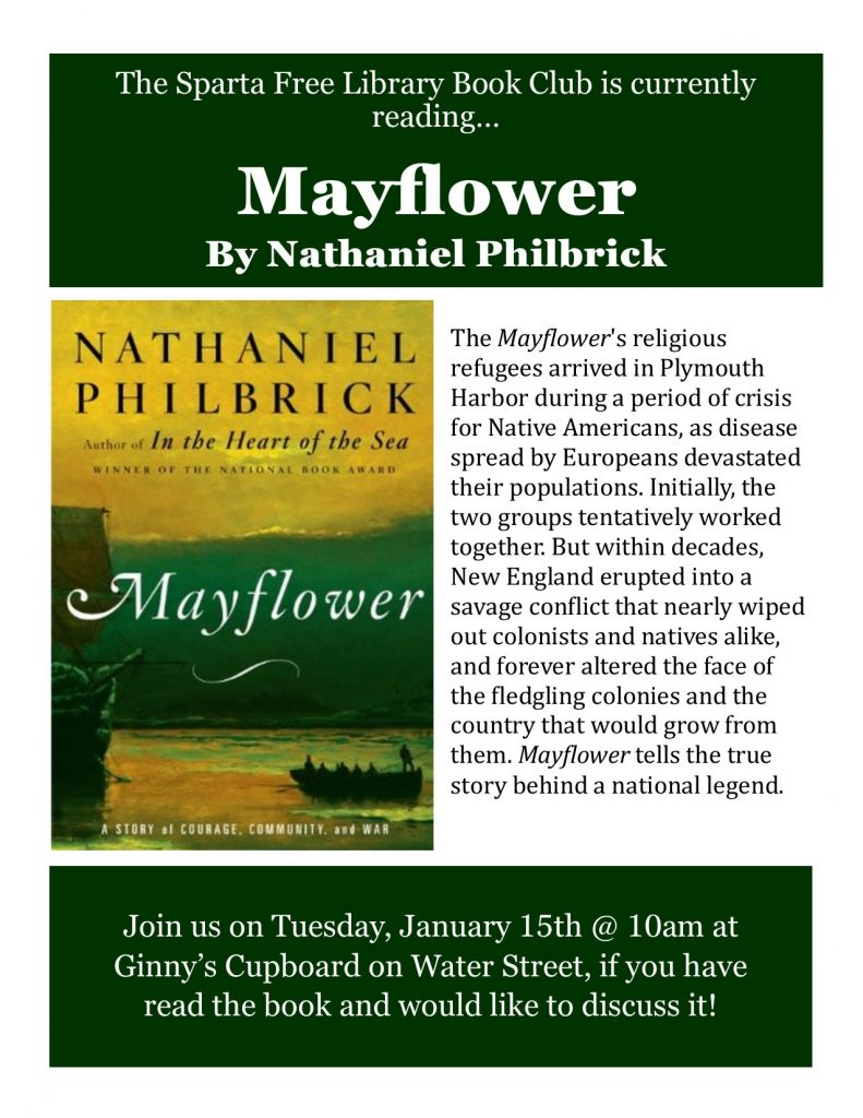 Adult Book Club: Mayflower