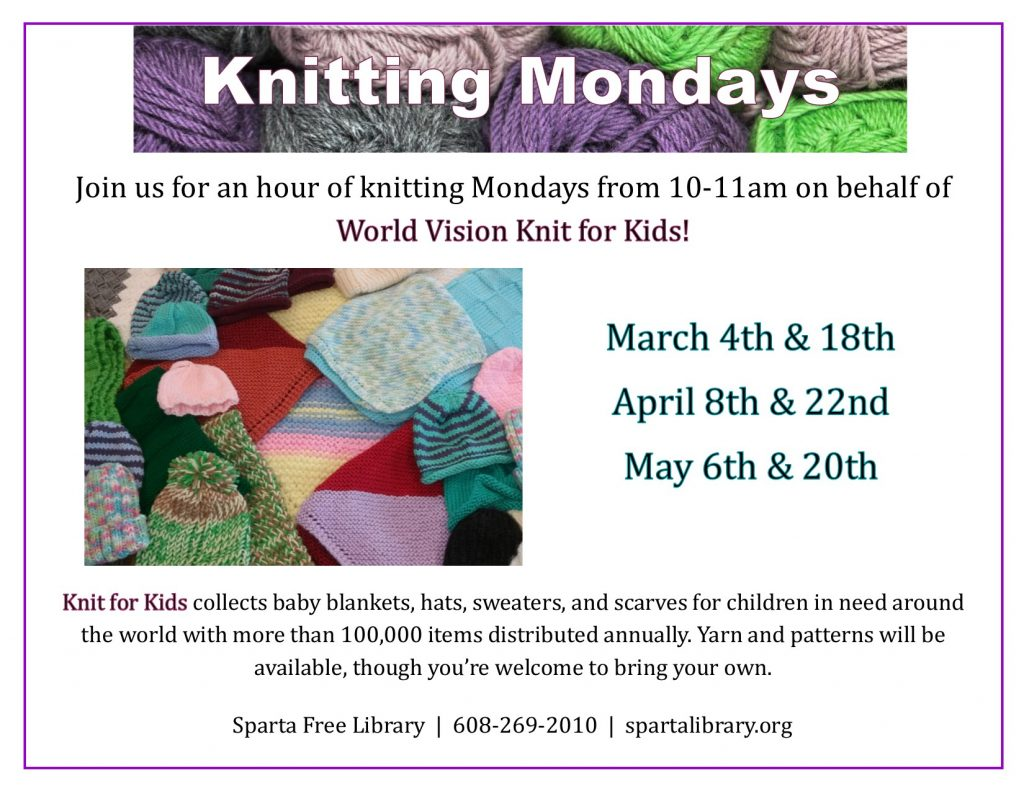 Knitting Mondays