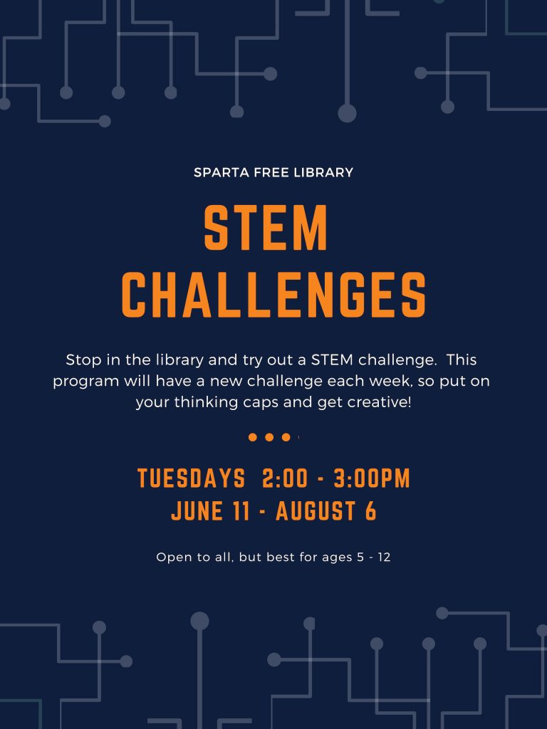 STEM Challenges Poster - Summer 2019