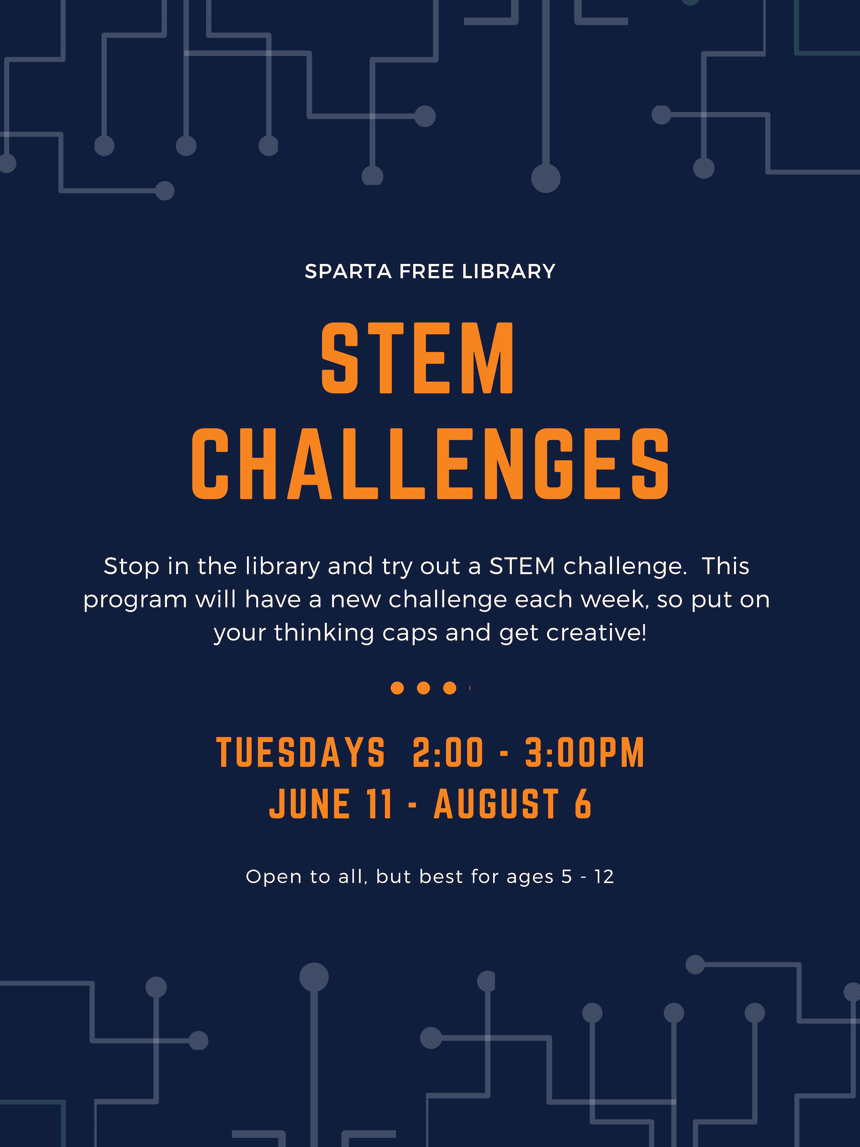 STEM Challenges @ Sparta Free Library