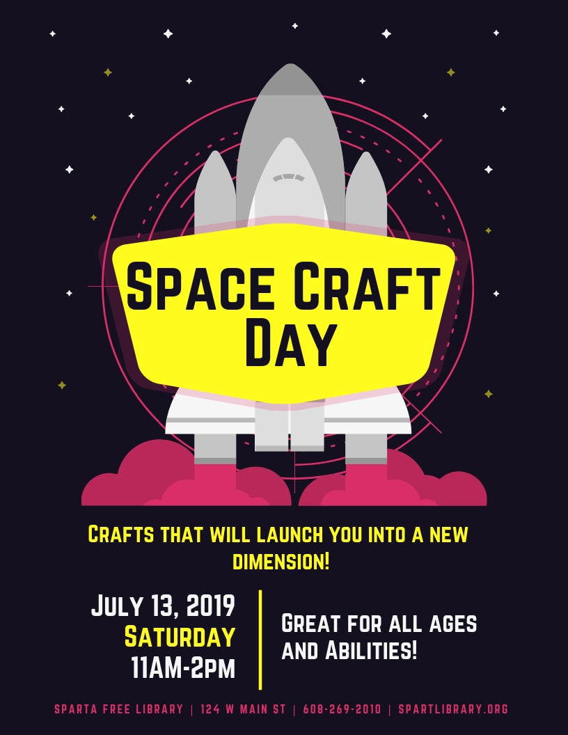 Space Craft Day @ Sparta Free Library