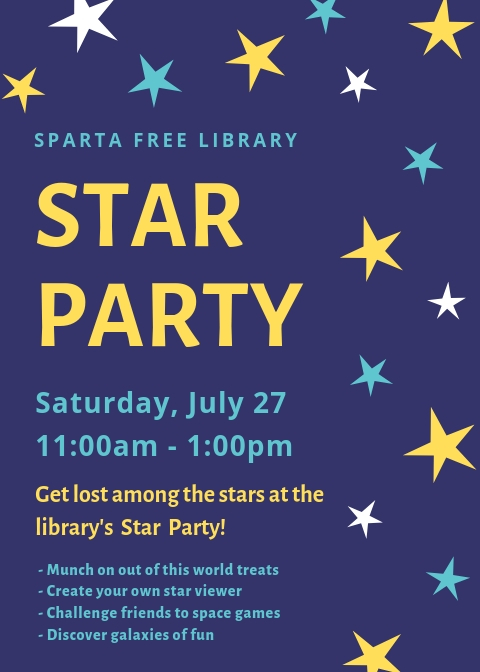 Star Party @ Sparta Free Library