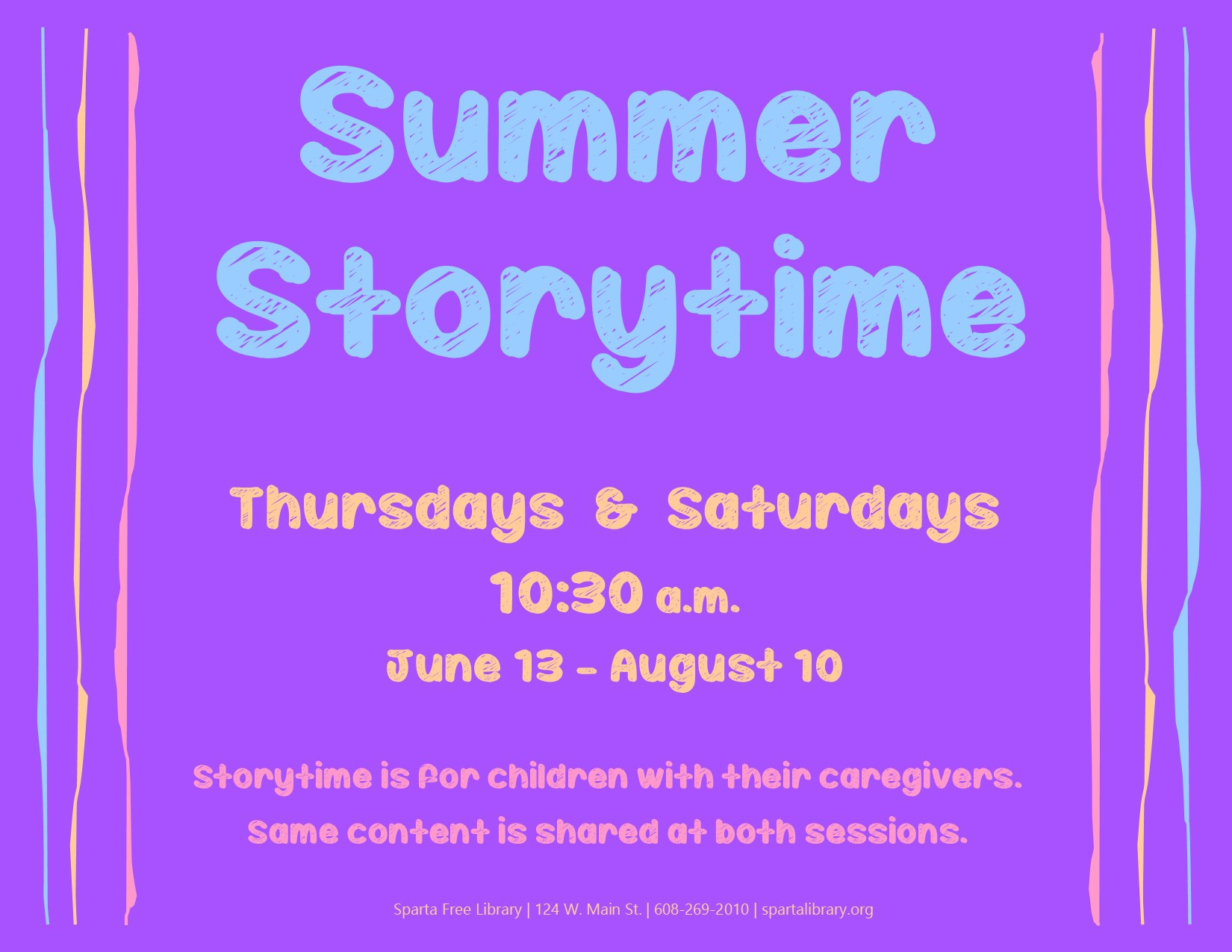 Storytime @ Sparta Free Library