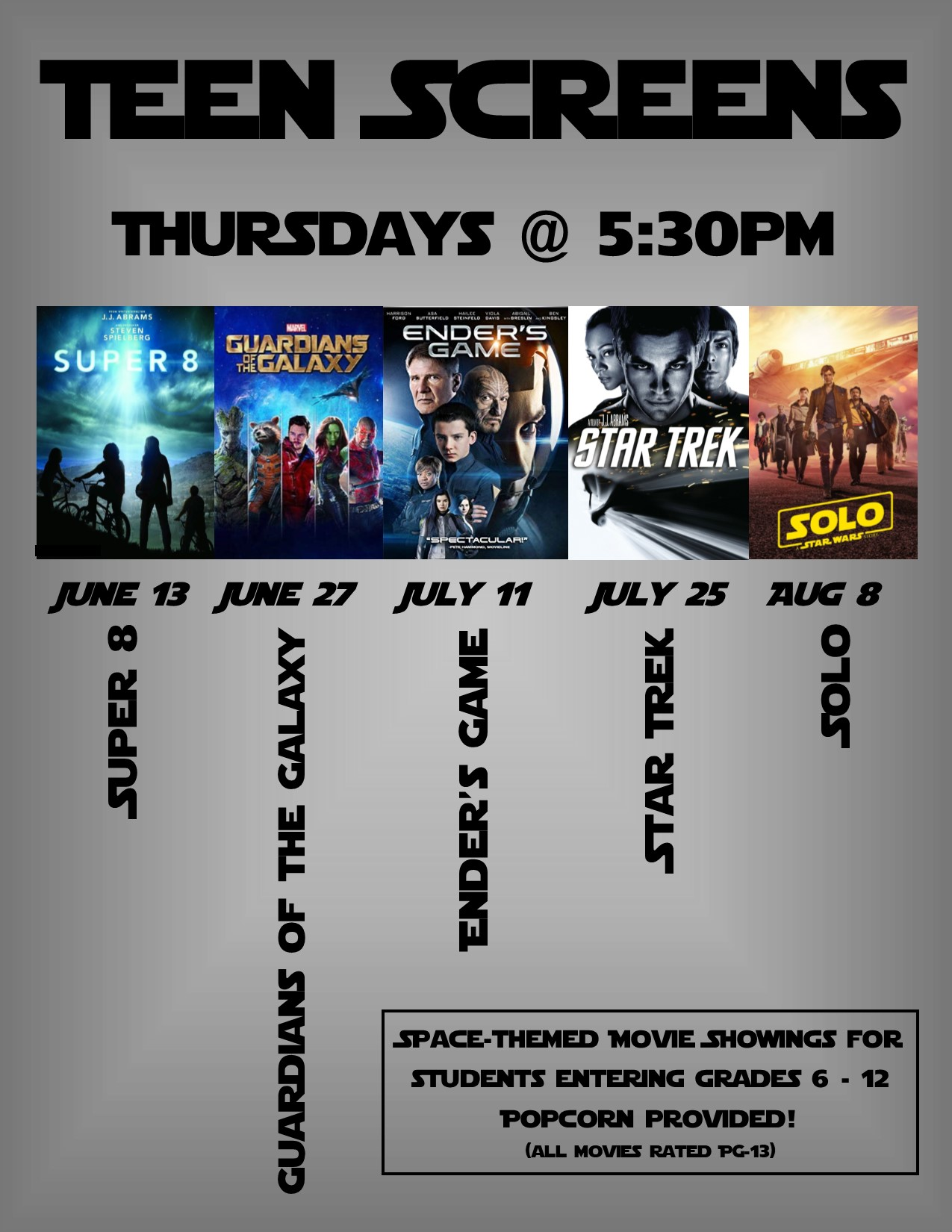 Teen Screens @ Sparta Free Library