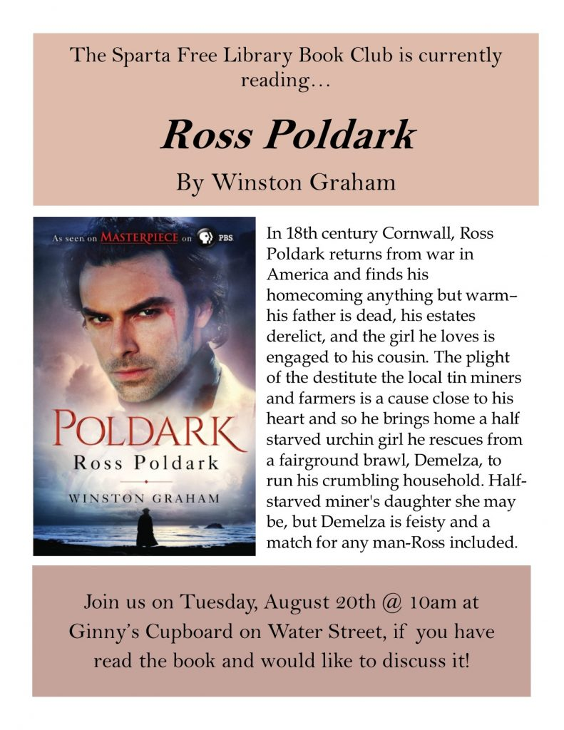 Adult Book Club: Ross Poldark