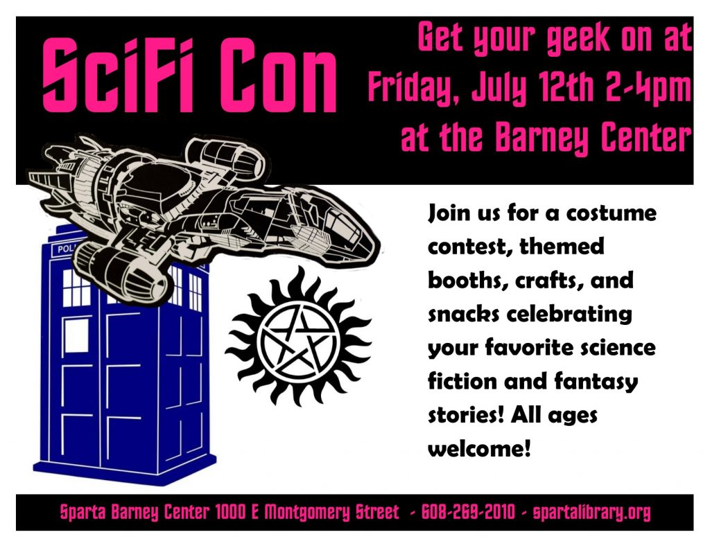 SciFi Con @ the Barney Center