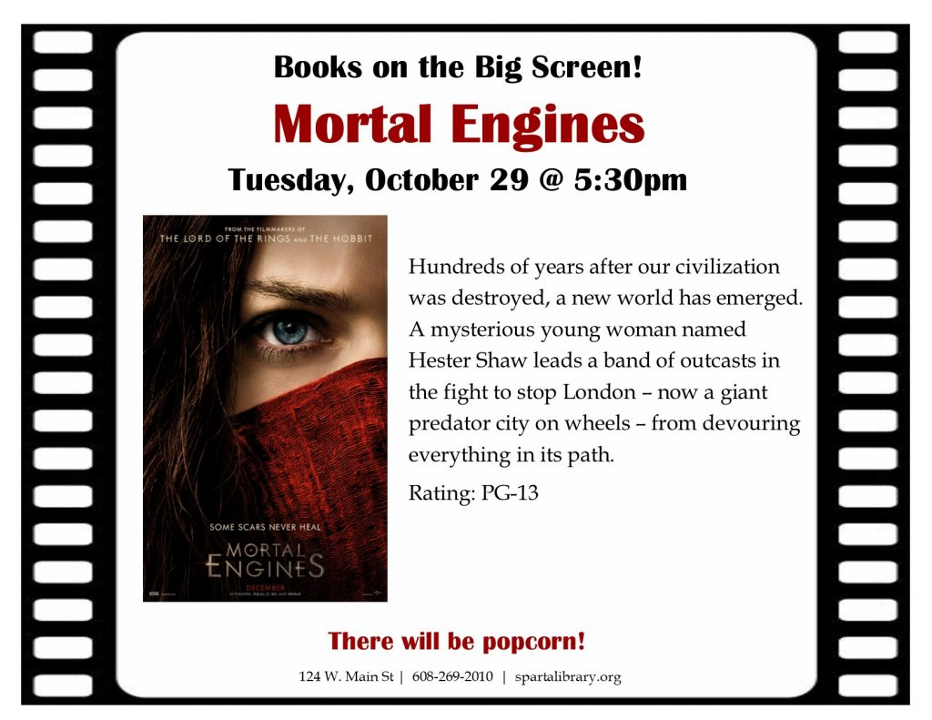 Books on the Big Screen: Mortal Engines
