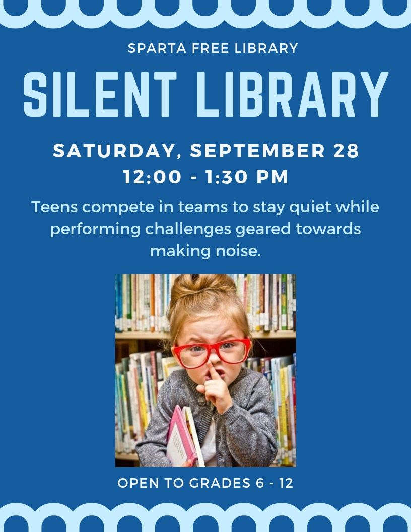 Teen Silent Library @ Sparta Free Library