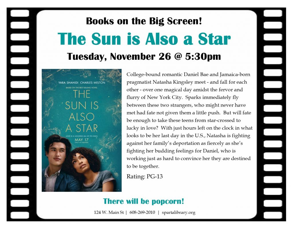 BotBS Sun is Also a Star Poster