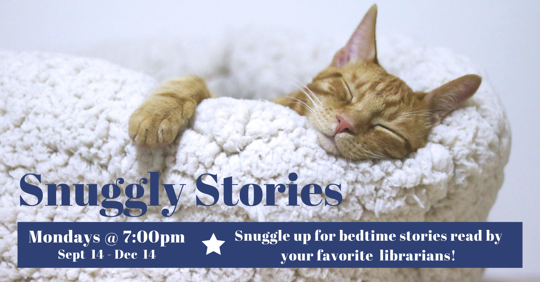 Snuggly Stories - Facebook Live