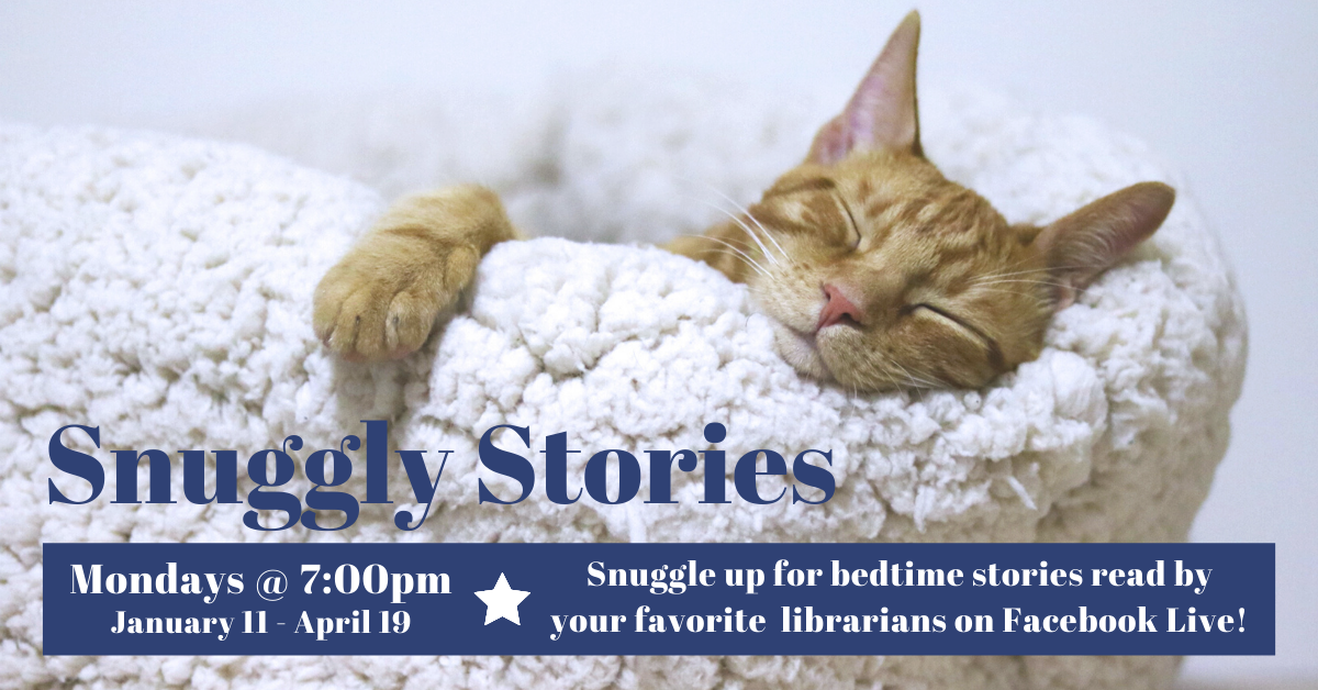 Snuggly Stories (Facebook Live)