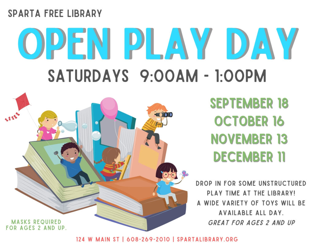 Open Play Day Poster - Fall 2021